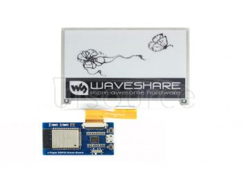 Universal e-Paper Raw Panel Driver Board, ESP32 WiFi / Bluetooth Wireless
