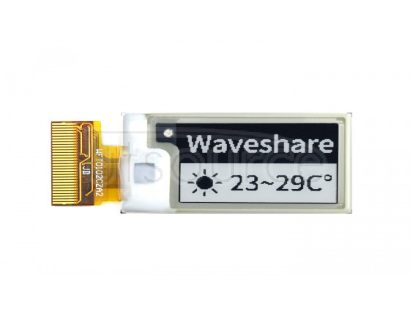 128×80, 1.02inch E-Ink raw display panel, black/white dual-color
