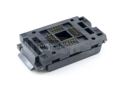 FPQ-44-0.8-16A, Test & Burn-in Socket