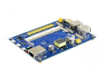 Compute Module IO Board with PoE Feature, for Raspberry Pi CM3 / CM3L / CM3+ / CM3+L