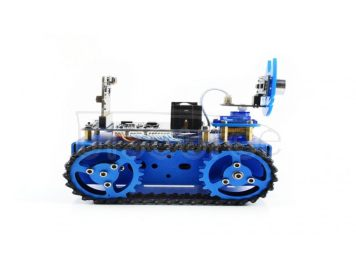 KitiBot tracked robot building kit for micro:bit