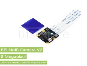 RPi NoIR Camera V2, Supports Night Vision