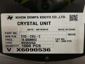 NX5032GA-16.000M-STD-CSU-2