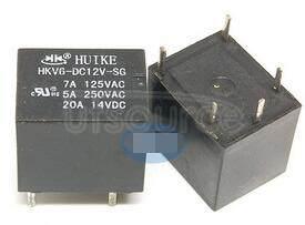 HKV6-DC12V 12V 20A 5PINS