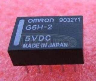 G6H-2-5VDC 5V 1A 10PINS
