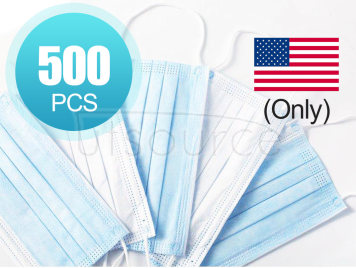 Disposable Masks, Mask (500 pcs) (U.S.A. region only)
