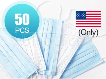 Disposable Masks, Mask (50 pcs) (U.S.A. region only)