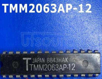 TMM2063AP-12 65536 BITS HIGH SPEED AND LOW POWER STATIC RAMDOM ACCESS MEMORY