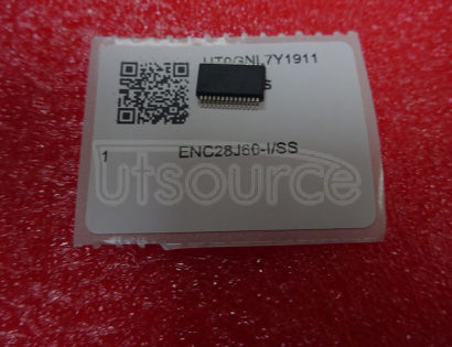 ENC28J60-I/SS Stand-Alone   Ethernet   Controller   with   SPI   Interface