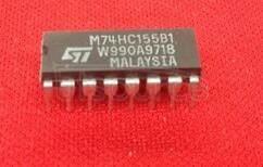 M74HC155B1 DUAL  2 TO 4  LINE   DECODER  3 TO 8  LINE   DECODER