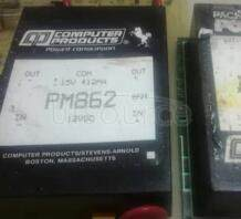 PM862 Single   and   dual   output  10 to 12  Watt   Nominal   input   DC/DC   converters