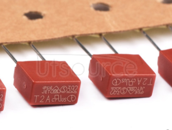 392 square fuse 250V fuse tube slow break T2A 250V China original