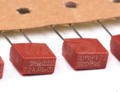 392 square fuse 250V fuse tube slow break T5A 250V China original