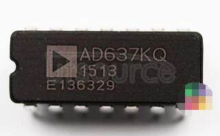 AD637KQ High Precision, Wide-Band RMS-to-DC Converter