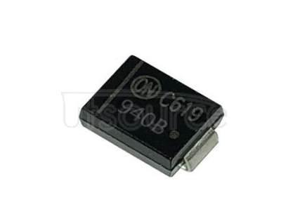1SMB5940BT3G 3 Watt Plastic Surface Mount Zener Voltage Regulators