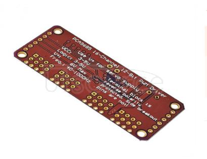 PWM controller steering gear control module PCA9685 16 channel 12 bit Fm+I2C bus