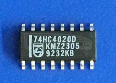 74HC4020 14-stage binary ripple counter