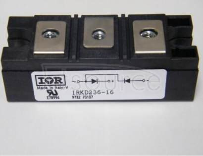 IRKD236-16 STANDARD RECOVERY DIODES