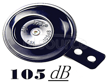 Dc electric horn 6V1.5A warehouse alarm experiment Waterproof loudspeaker electrode electric horn