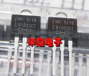 ER1002CT SUPERFAST   RECOVERY   RECTIFIERS(VOLTAGE-  50 to  400   Volts   CURRENT-   10.0   Amperes)