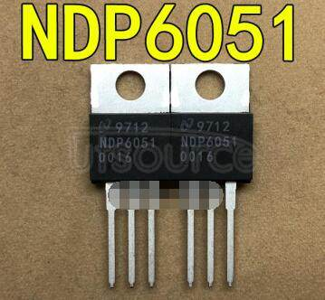 NDP6051 N-Channel Enhancement Mode Field Effect Transistor(48A,50V,0.022Ω)NMOS(48A, 50V,0.022Ω)