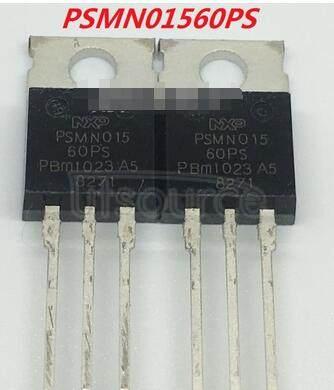 PSMN015-60PS N-channel  60 V  14.8  mΩ  standard   level   MOSFET
