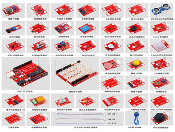 Keyes brick 37 in 1 Sensor Kit With Anti-reverse Interfaces For ARDUINO Mixly Maker Education Programming