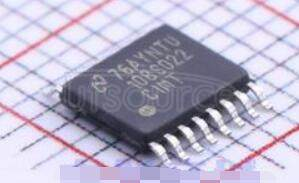 ADC108S022CIMT/NOPB ADC108S022 8-Channel, 50 ksps to 200 ksps, 10-Bit A/D Converter<br/> Package: TSSOP<br/> No of Pins: 16<br/> Qty per Container: 92/Rail