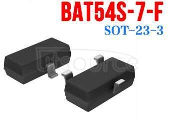 BAT54S-7 SURFACE MOUNT SCHOTTKY BARRIER DIODE