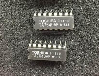 TA7640AP AM/FM IF PROCESSOR