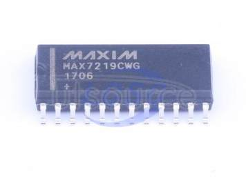 MAX7219CWG+T