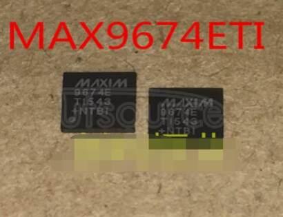 MAX9674ETI+ IC VREF 10BIT TFT LCD 28TQFN