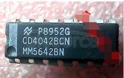 CD4042BCN 1-Bit D-Type Latch