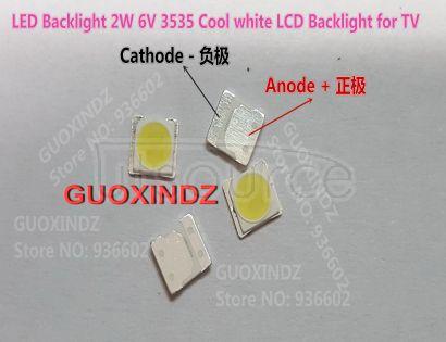 For LG LED LCD Backlight TV Application LED Backlight 2W 6V 3535 Cool white LED LCD TV Backlight TV Application
