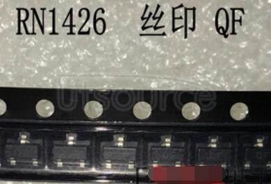 RN1426 TOSHIBA Transistor Silicon NPN Epitaxial Type PCT Process