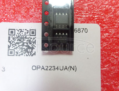 OPA2234UA Low Power, Precision SINGLE-SUPPLY OPERATIONAL AMPLIFIERS
