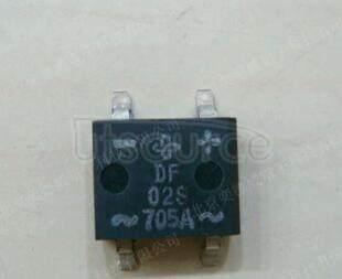 DF02S Miniature Glass Passivated Single-Phase Surface Mount Bridge Rectifier