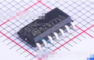 TL074CDT Low noise JFET quad operational amplifier
