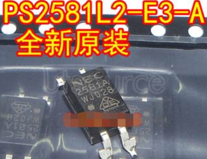 PS2581L2-E3-A LONG CREEPAGE TYPE HIGH ISOLATION VOLTAGE 4-PIN PHOTOCOUPLER           California Eastern Labs      PS2581L2-A           LONG CREEPAGE TYPE HIGH ISOLATION VOLTAGE 4-PIN PHOTOCOUPLER          PS2581L2-A           LONG CREEPAGE TYPE HIGH ISOLATION VOLTAGE 4-PIN PHOTOCOUPLER