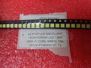 Lextar LED Backlight High Power LED 1.8W 3030 6V Cool white 150-187LM PT30W45 V1 TV Application 3030 smd led diode