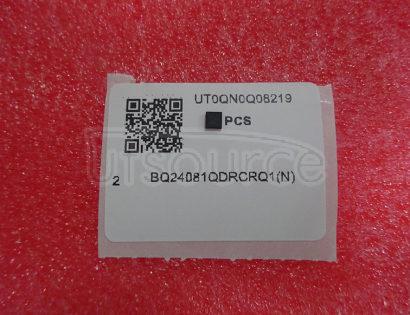 BQ24081QDRCRQ1 Charger IC Lithium-Ion/Polymer 10-VSON (3x3)