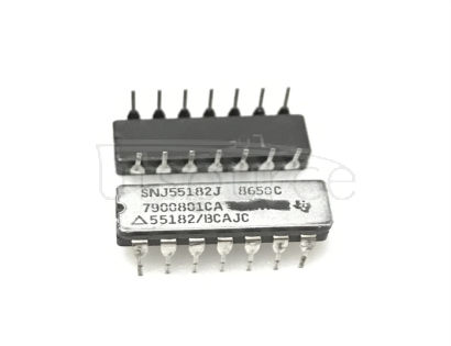 SNJ55182J DUAL DIFFERENTIAL LINE RECEIVERS