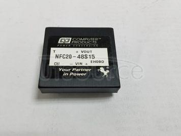 NFC20-48S15/DC/DC:48V-15V-20W