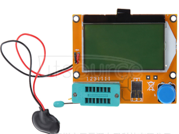Lcr-t4 graphical transistor tester, resistance, inductance, capacitance, ESR, silicon controlled