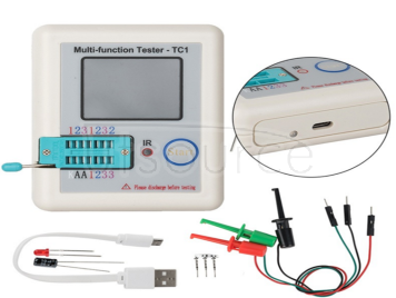Lcr-tc multifunctional transistor tester LCR-TC1 full color screen graphic display finished product
