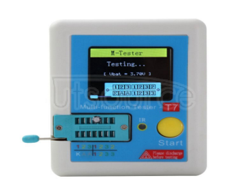 Lcr-t7 high speed transistor tester full color screen graphic display multifunctional tester