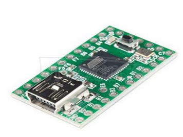 The Teensy2.0USB AVR development board Keyboard and mouse ISP USB thumb drive experimental board MEGA32U4