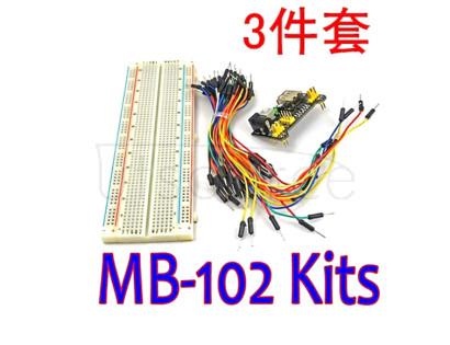 MB102 advanced large bread board + power module +65 bread line DIY kit MB102 advanced large bread board + power module +65 bread line DIY kit