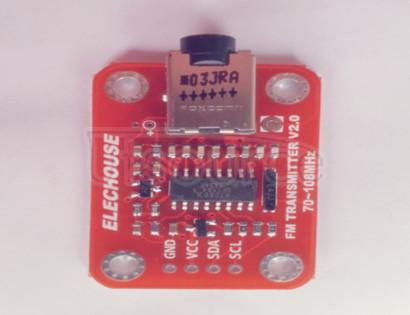 An FM Radio Transmitter Module creates the Radio Transmitter Module An FM Radio Transmitter Module creates the Radio Transmitter Module
