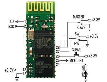 Bc04-b master-slave Bluetooth serial port adapter Bluetooth serial port module Bluetooth serial port transfer module Bc04-b master-slave Bluetooth serial port adapter Bluetooth serial port module Bluetooth serial port transfer module